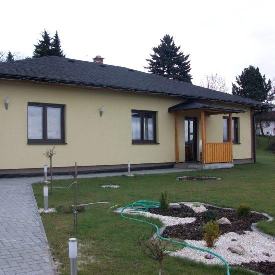 Výstavba domu s garáží